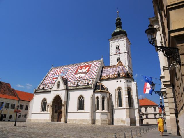 St Mark's Church, Zagreb, Croatia