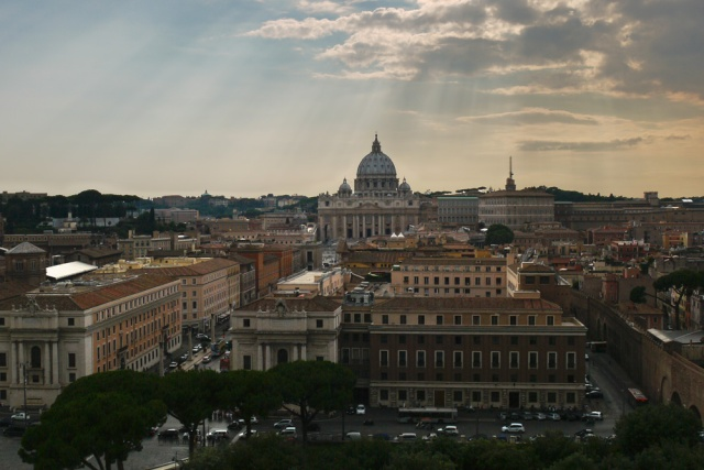 St Peter's Cathedral, Vatican City, Rome, Italy