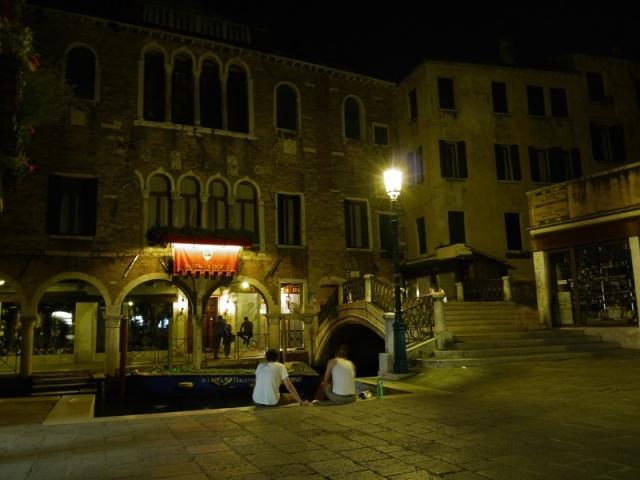Venice by night, Italy