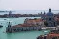 St. Marks Church, Venice, Italy. Bird-eye view