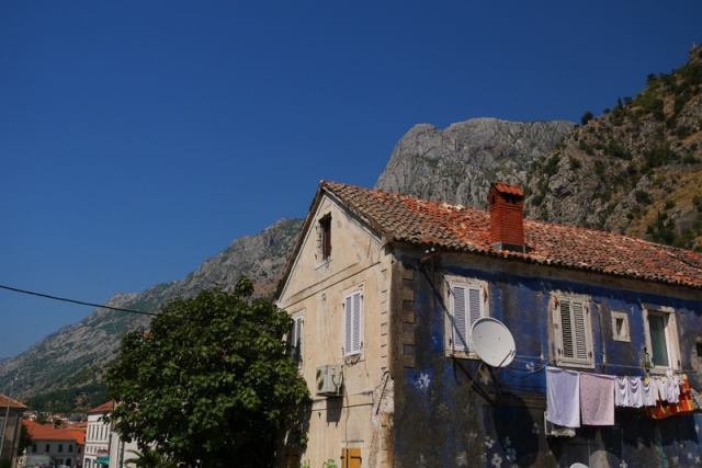 An old house in Kotor, Montenegro