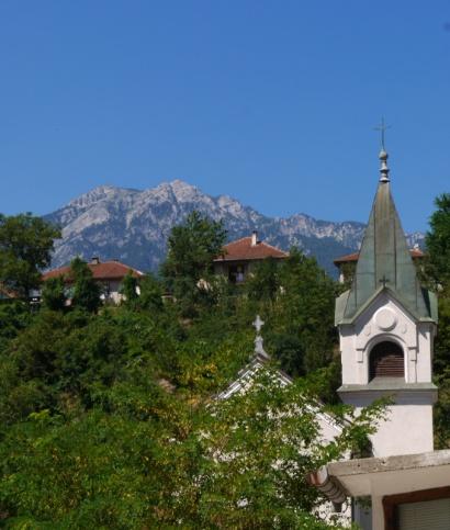 Beautiful mountains sourrounding Jablanica, Bosnia and Herzegovina - small