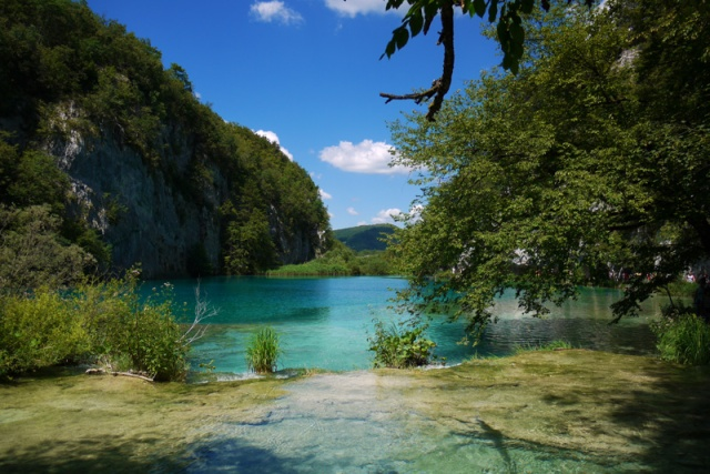 Beautiful nature in Plitvice, Croatia