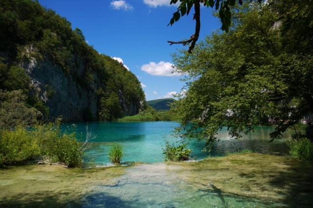 Beautiful nature in Plitvice, Croatia