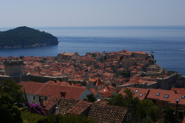 Dubrovnik seen from above, Croatia