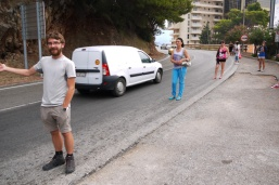Our first experience of hitch-hiking in Montenegro, accommodation problems and the beauties of the least touristy of towns, Podgorica