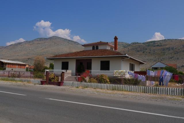 Landscape near the Montenegro-Albania border, near Tuzi, Montenegro