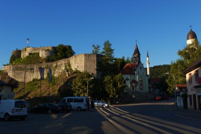The castle in Bosanska Krupa, Bosna