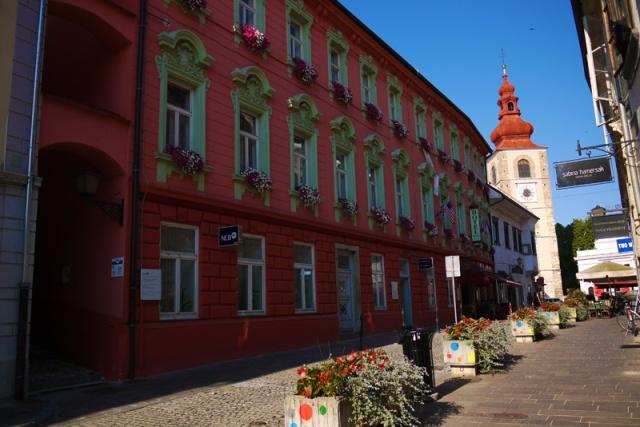 The streets of Ptuj, Slovenia