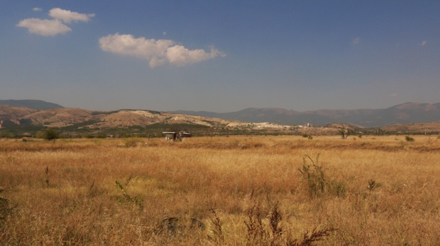 Landscape near the Macedonia-Kosovo border