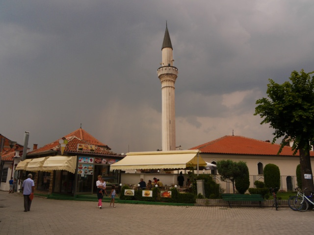 Mosque in the centre of Ohrid, Macedonia