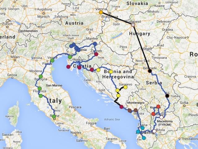 Balkan Peninsula by Thumb 2013