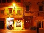 Crepes restaurant in Trastevere, Rome, Italy