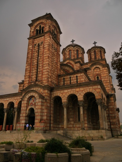 Crkva Svetog Marka - St Mark's Church, Belgrade, Serbia