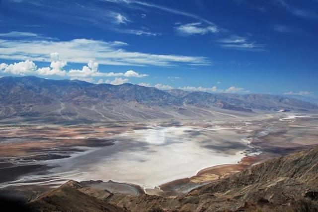 Dalia Coppi - Dante's Peak, Death Valley NP, California, USA