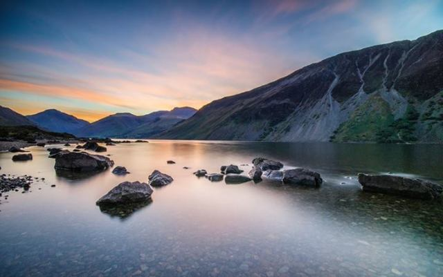 GK Photography - Dawn at Wastwater in the Lake District, United Kingdom