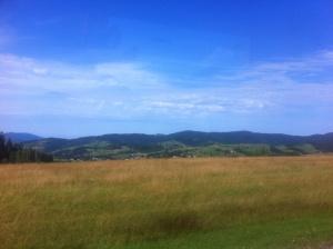 Landscape on the Poland-Slovenia border - by perpetuallyperipatetic