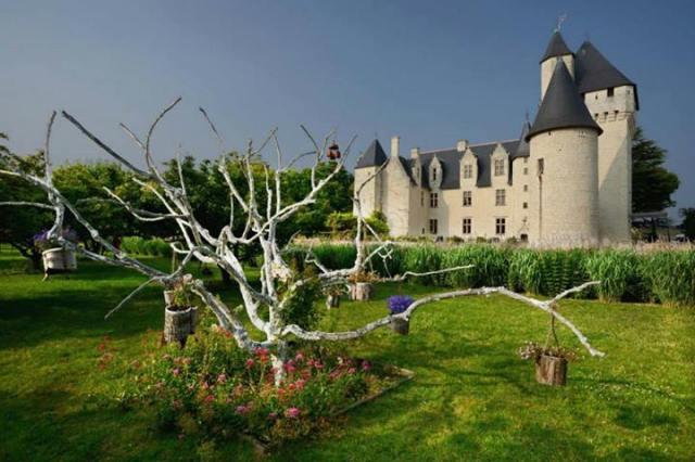 Milaudiere - Le château du Rivau, Lémeré, France