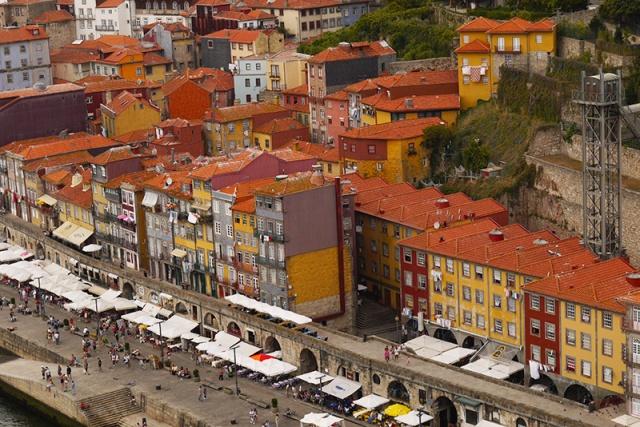 Porto, Portugal (88) - Ribeira houses